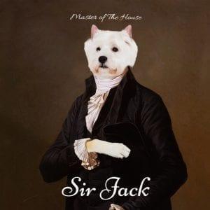 109 – Sir Jack Framed Ceramic  Portrait