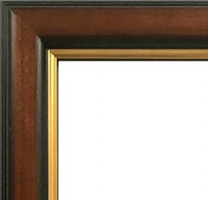 Brown and Gold Frame