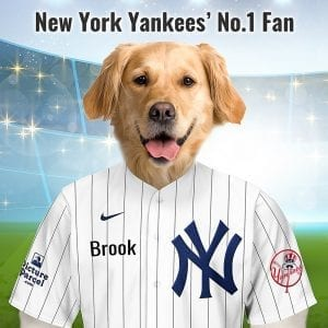 New York Yankees Previously known as the New York Americans. New York Press editor Jim Price coined the nickname Yanks, or Yankees, in 1904 because it was easier to fit in headlines. Fantastic, unique and personalised gift for all New York Yankee fans and pet owners. You can design your pet portrait online and we look after the rest. This is a custom made baseball New York Yankee fan gift suitable for any occasion. Handmade in Ireland - our personalised pet portraits are delivered worldwide. New York Yankee fans that are also pet owners will love this personalised, fun and thoughtful gift.