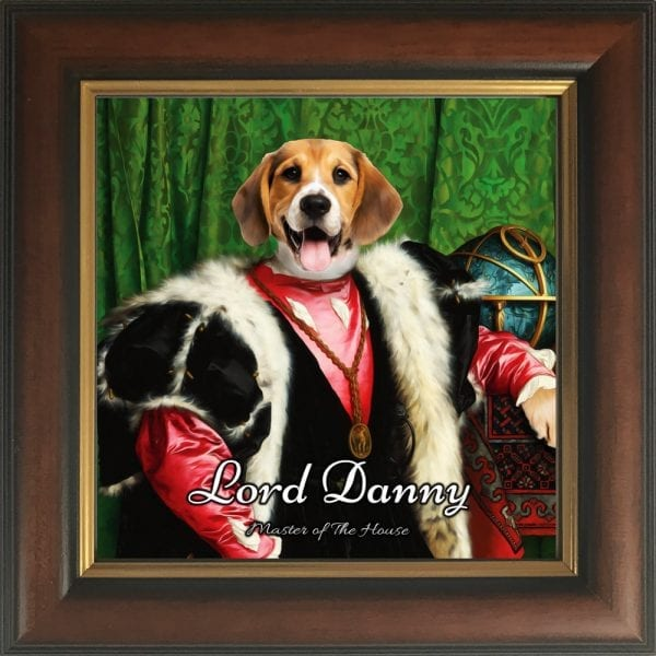 Scottish and Welsh pet owners - theses handmade pet portraits are custom made for you. Design your unique pet portrait online and get it delivered to all parts of the UK and Ireland within a few days.