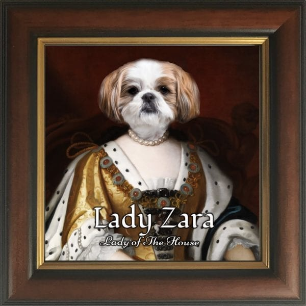 ⭐⭐⭐⭐⭐ 5 star product. Personalised pet portraits. Your pet painted into noble costume. Best selling gifts for pet owners.