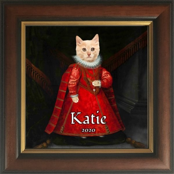 Kitten Portrait. Portrait for young Kittens or puppies. Award winning pet paintings