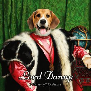 115 -Lord Danny Framed Ceramic  Portrait