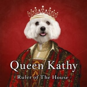 Royal Pet Portrait. Superior portraiture.