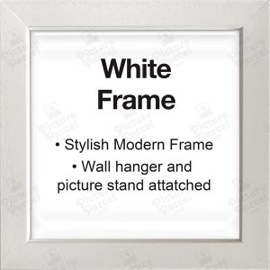 White Frame - Modern and Stylish.