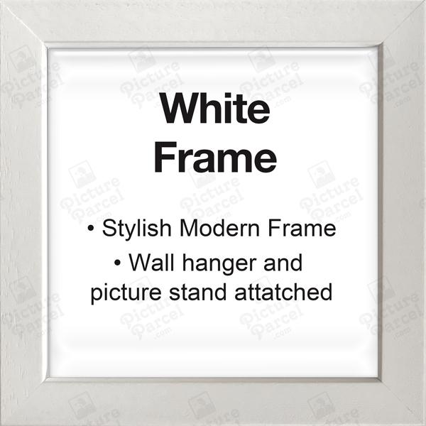 White Frame - Modern and Stylish.