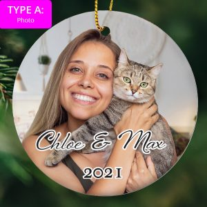 Christmas Ornament –  Upload your picture